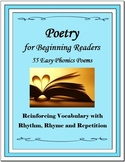 Poetry for Beginning Readers - 55 Easy Phonics Poems