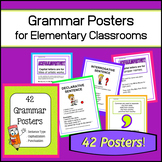 42 Grammar Posters! (Sentence Type, Capitalization, Punctuation)