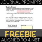 4.NBT Math Journaling