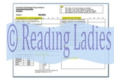 4th - 6th Grade Reading Progress Report for AIS, Correctiv