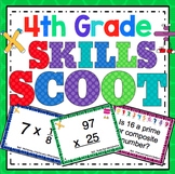 4th Grade Math Skills Scoot Mega Bundle