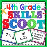 4th Grade Math Skills Scoot Mega Bundle