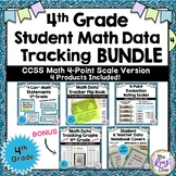 4th Grade Common Core Math Student Data Tracking Set {4-po
