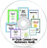 4th Grade Common Core Mathematics Bundle