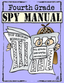 4th Grade End of the Year Spy Manual Memory Book