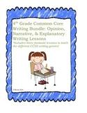 4th Grade Common Core Explanatory, Opinion, and Narrative