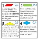 4th Grade Math Calendar - Geometry, Decimals, Problem Solving
