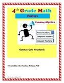 Bulletin Board: Posters  Algebraic Thinking Prime & Compos
