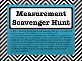 4th Grade Measurement Conversions Scavenger Hunt