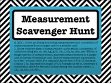 4th Grade Measurement Conversions Scavenger Hunt