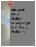4th Grade Mixed Problem Solving Practices