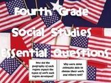 4th Grade Social Studies Essential Questions