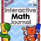 4th Grade TEKS Interactive Math Journal *GROWING BUNDLE*
