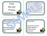 4th Grade Vocabulary Game 1
