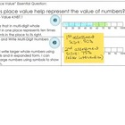 4th grade Learning Targets for McGraw-Hill's My Math Chapter 1