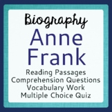 Anne Frank, 5 Days with Anne Frank: Informational Texts, A