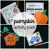 5 Little Pumpkins Activity Packet {Math and Literacy Unit}