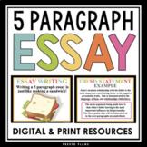 5 PARAGRAPH ESSAY: Powerpoint Presentation: Essay Organiza