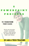 5 Projects to Learn PowerPoint in Grades 2-8