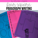 4 Squares to Writing Full Paragraphs