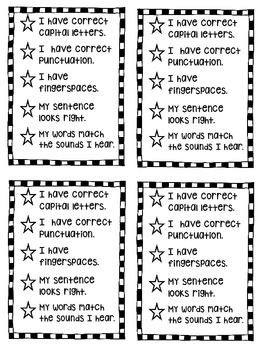 https://www.teacherspayteachers.com/Product/5-Star-Sentence-Checklist-1580050