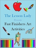 50 Creative Art Activities for Fast & Early Finishers, Enrichment