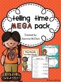 Telling Time Mega Pack