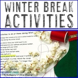 50 Winter/Christmas Break Activities to do at Home