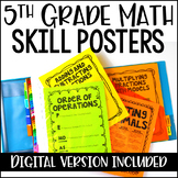 5th Common Core Math Concept Posters  *All Standards*