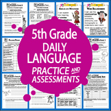 5th Grade Language-Daily Practice & Assessments