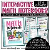 5th Grade Interactive Math Notebook {BUNDLE}