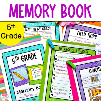 5th Grade Memory Book- End of Year Reflections