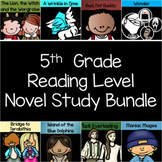 5th Grade Reading Level Interactive Notebook and Activity