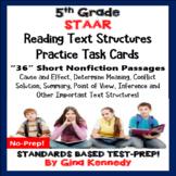 5th Grade STAAR Reading Task Cards