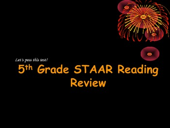 5th Grade STAAR Reading Review