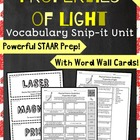 5th Grade Science STAAR-Properties of Light FREEBIE (refra