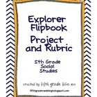 5th Grade Social Studies Explorers Flipbook Project