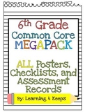 6th Grade Common Core Megabundle