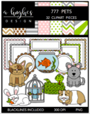 777 Pets Bundle {Graphics for Commercial Use}