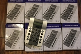 8 Classroom Calculators (large buttons)