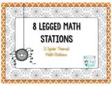 8 Legged Math Stations