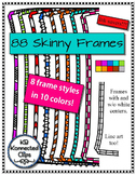88 Skinny Frames - Ink savers!