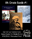 8th Grade DISCOUNT BUNDLE #1 - The Giver, Narrative of Dou