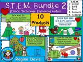 STEM Science, Technology, Engineering & Math Bundled Set 2