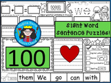 A+ 100 Sight Word Sentence Puzzles...Building Sentences, H