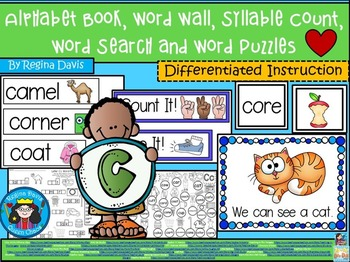 https://www.teacherspayteachers.com/Product/A-Alphabet-Book-Cc-Word-Wall-Syllable-Count-Word-Search-Word-Puzzles-1922212