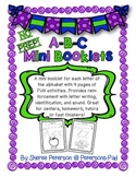 A-B-C Mini Booklets {NO PREP}