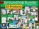 A+  BUNDLE Groundhog Day...Language Arts and Math Combinat