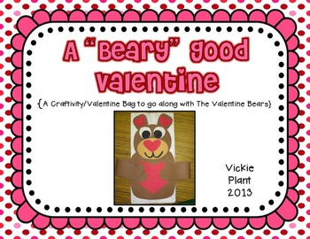 "A ""Beary"" Good Valentine"