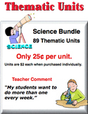A Bundle - Science Thematic Units